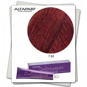 Alfaparf Color Wear Tone On Tone Color 7.62,  Farba do włosów bez amoniaku, 60 ml