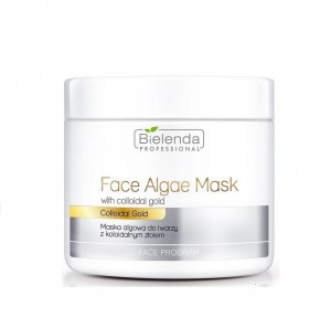 Bielenda Professional  Face Algae Mask with Colloidal Gold, Maska Algowa do twarzy z koloidalnym złotem, 190 g