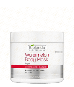 Bielenda Professional Watermelon Body Mask in gel, Arbuzowa Maska Żelowa do ciała, 600 g