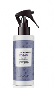 Alfaparf Style Stories Sculpting Hairspray, Lakier rzeźbiący bez gazu, 250 ml