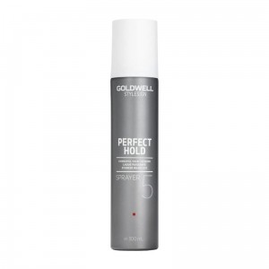 Goldwell Stylesign Perfect Hold Sprayer, Mocny lakier do włosów, 300 ml