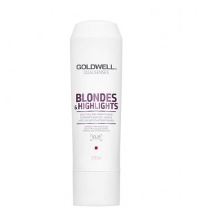 Goldwell Dualsenses Blondes & Highlights Conditioner, Odżywka do włosów blond i z pasemkami, 200 ml