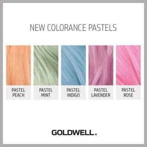 Goldwell Colorance Pastel, demi-permanentna pastelowa farba do włosów bez amoniaku 60 ml