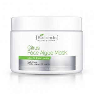 Bielenda Professional Citrus Face Algae Mask, Cytrusowa maska algowa do twarzy, 190 g