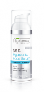 Bielenda Professional 3,5% Hyaluronic Face Serum, Hialuronowe serum do twarzy, 50 g