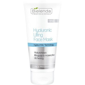 Bielenda Professional Hyaluronic Lifting Face Mask, Hialuronowa liftingująca maseczka do twarzy, 175 ml