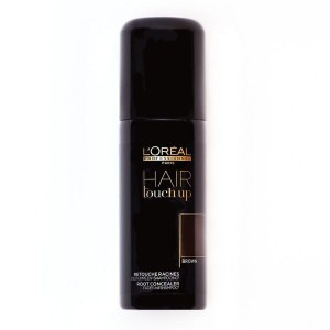 Loreal Hair touch up, Spray do maskowania siwych odrostów - brąz, 75 ml